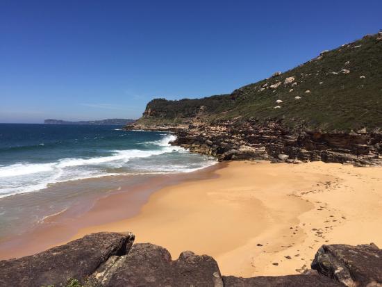 """Pretty Beach, Australien: An unnamed beach we called """"Adams Beach"""" nearby!"""