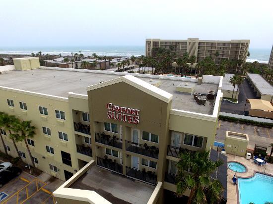 ariel front picture of comfort suites south padre island rh tripadvisor com