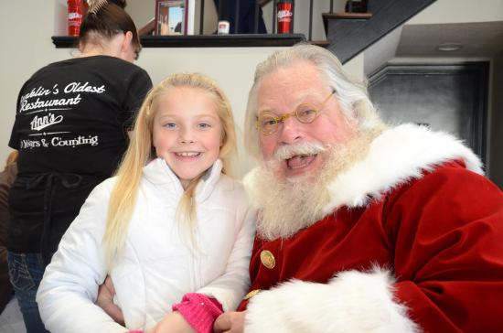 Franklin, IN: Stopped in for Breakfast while finding out who was naughty or nice
