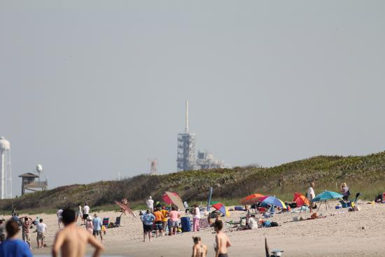 Playalinda Beach View Of Launch Pad From The