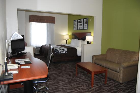 Sleep Inn & Suites Montgomery: Suite, 1 King Bed Non Smoking