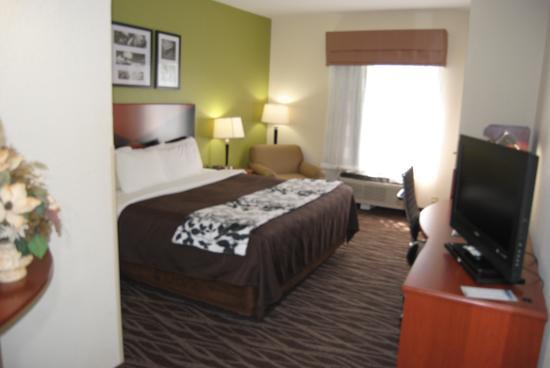 Sleep Inn & Suites Montgomery: 1 King Bed Non Smoking
