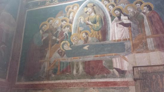 Monastero di Sant'Antonio in Polesine: Affreschi giotteschi