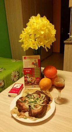Armenia Hostel : Armenian Specialty... Pork Loin Barbecue