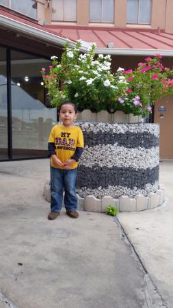 Days Inn San Antonio Splashtown/ATT Center: Parte de la recepcion.