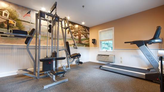 Exercise room hours 6:30am-10pm