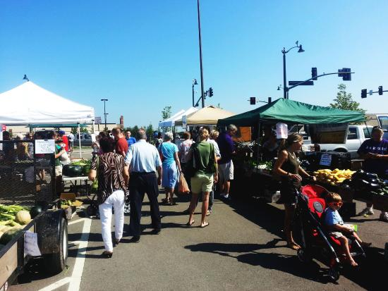 Μανχάταν, Κάνσας: Farmer's Market, 3rd & Leavenworth streets intersection