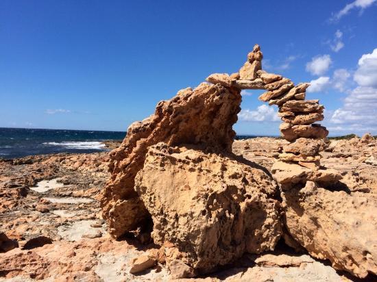 Ses Salines, Spain: curioso
