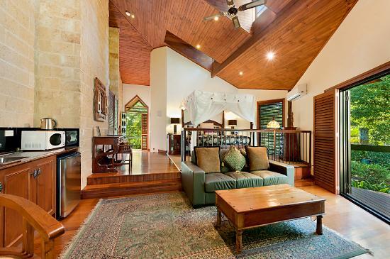 ذا ريتريت سكاربمنت: Romantic chalet style Villas