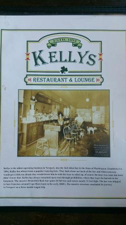 Kelly's Bar & Grill: Kelly's Restaurant and Bar