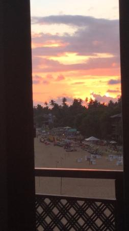 Little Villa Hotel : Watching sunset from bed