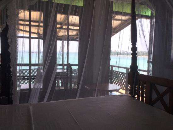 Little Villa Hotel: View from the bed