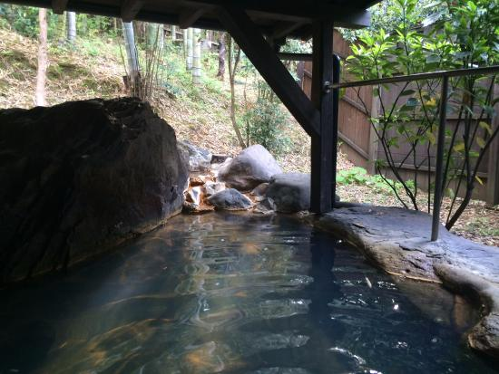 Oyado Hanabo: 部屋についていた露天風呂