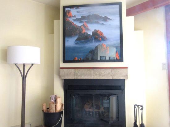 Fire Place, Hyatt Carmel Highlands, Carmel, CA