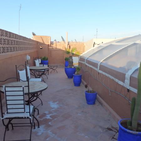 Riad Hayane: terrasse
