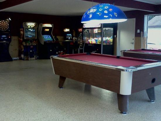 Mora, MN: Game room