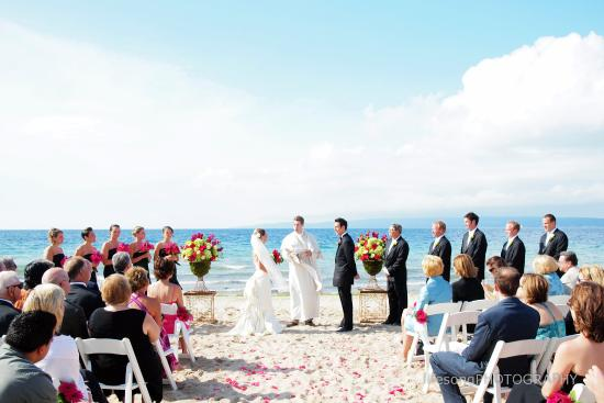 Bay Harbor Village Hotel Conference Center Wedding Ceremony Venue Sunset Beach