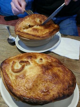 Frampton on Severn, UK: Fantastic 3 Shu Pie!