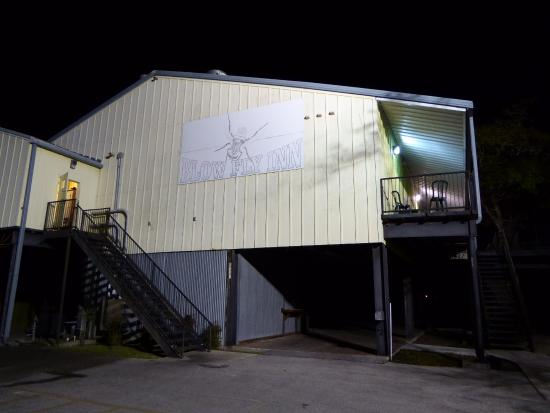 Blow-Fly Inn: Blow-Fly at night