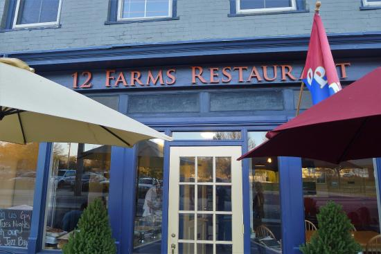 Outside Picture Of 12 Farms Restaurant Hightstown