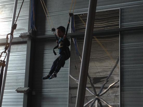 Roedby, เดนมาร์ก: High jump trampolin