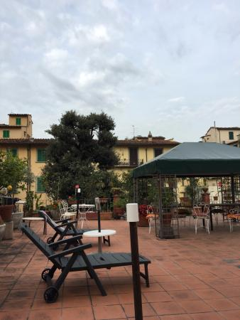 Hotel Il Bargellino: the patio off of our room