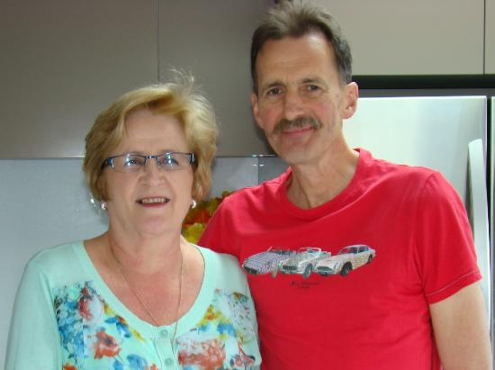 West Melton, Nueva Zelanda: Your hosts: Josef and Marilyn