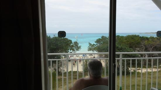 watching the volley ball game from the comfort of the balcony rh tripadvisor com