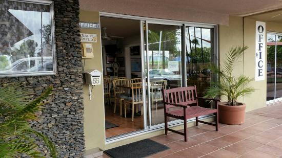 Tweed River Motel: Front Office
