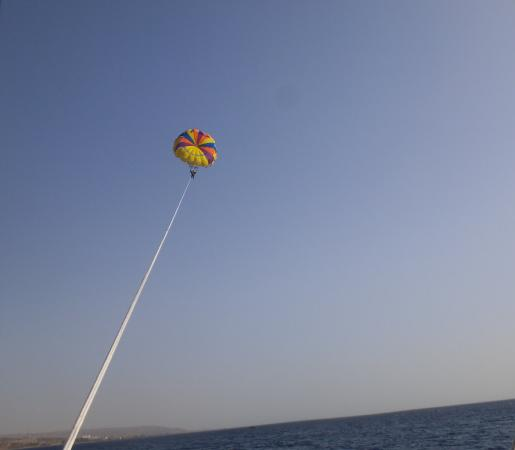 Sindbad: 1st deal with the parasailing in the red sea in Aqaba- Jordan