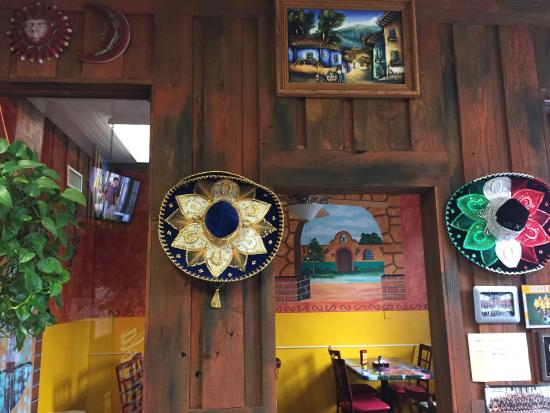 Mexican Restaurant Decor colourful and authentic decor - picture of mexican restaurant mi