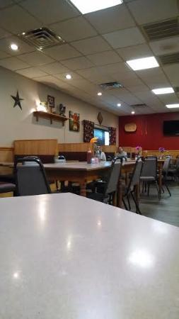 Jefferson, Carolina del Norte: Dining room.