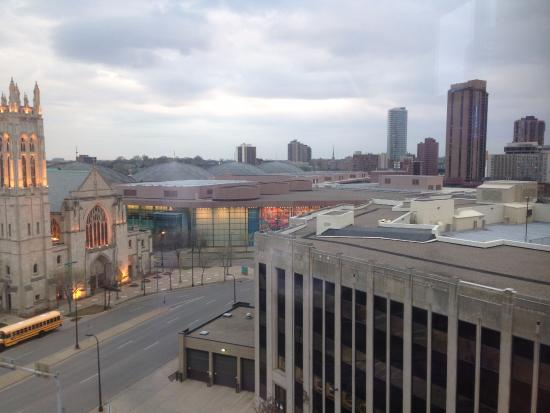 Hilton Garden Inn Minneapolis Downtown: view from 10th floor