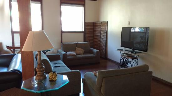 Casa Do Manequinho Hotel: Mesanino..área de lazer