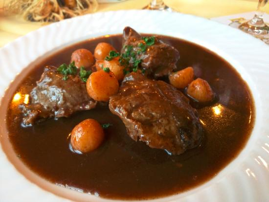 Wintrich, Alemania: House special dish (braised pork cheeks)