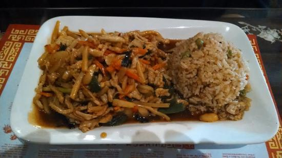 Wytheville, VA: Pork with Garlic Sauce