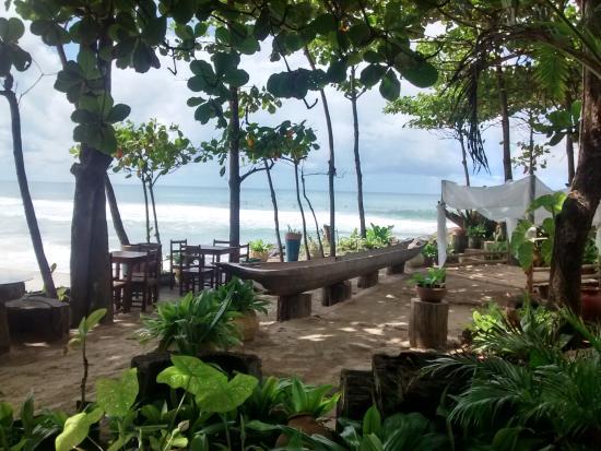 Pousada Sage Point: Extensão do restaurante, área de lazer, relaxamento e contemplação.