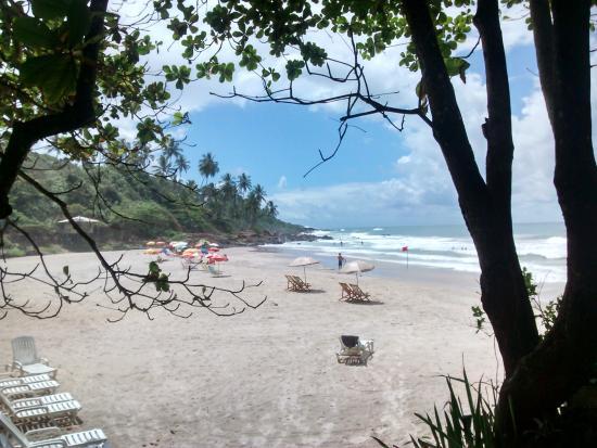 Pousada Sage Point: Praia da Tiririca, vista do restaurante da Pousada