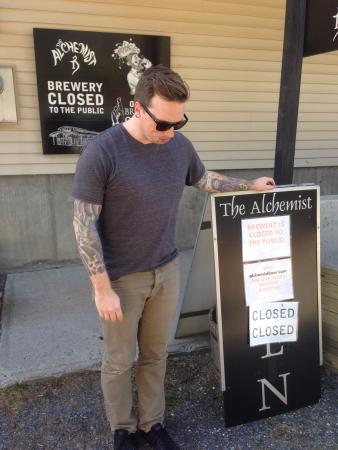 Waterbury, Βερμόντ: so sad it's closed