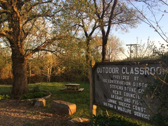 Arkansas: Outdoor Classroom leading from Archey Park to historic downtown