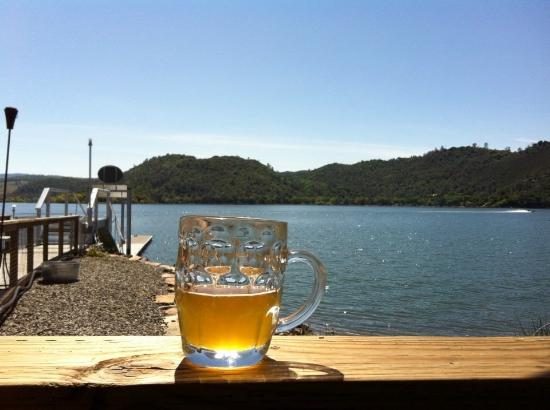 Clearlake, CA: beer with a view