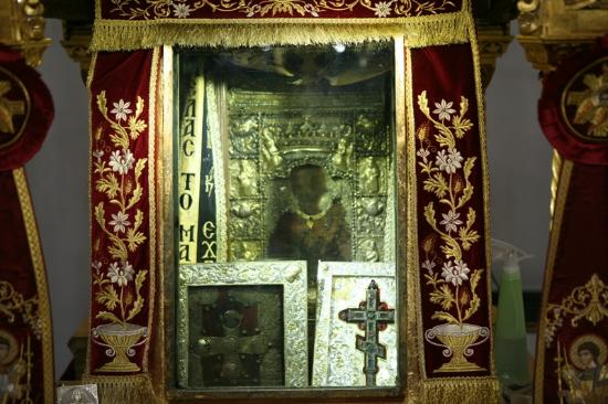 Kastania, กรีซ: Чудотворная икона Богородицы Панагия Сумела