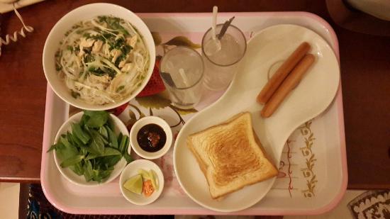 Ava Saigon 3 Hotel: Breakfast, ada 4 pilihan menu