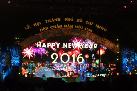 Ava Saigon 3 Hotel: Konser Tahun Baru (depan Benh Thanh) sekitar 10 menit jalan kaki dari hotel