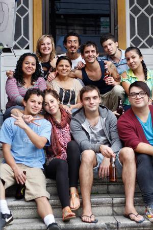 Aldea Hostel San Jose: Amigos Aldeanos
