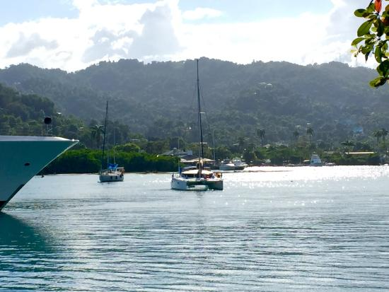 Goblin Hill Villas at San San : In Port Antonio's West Harbour, in front of the Marina