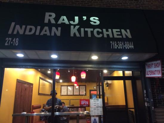 Raj Kitchen View From Outside Picture Of Raj S Indian Kitchen