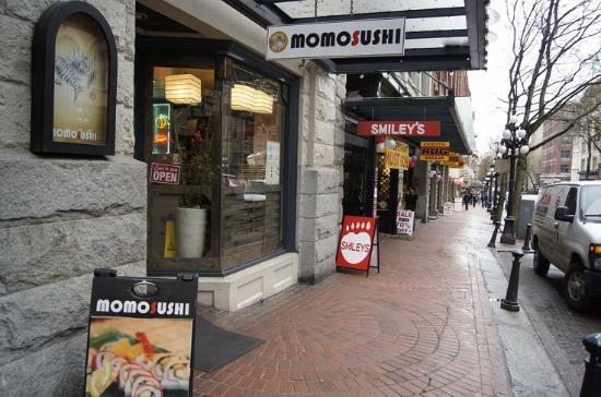 Momo Sushi Vancouver 375 Water St Gastown Restaurant Reviews Phone Number Tripadvisor