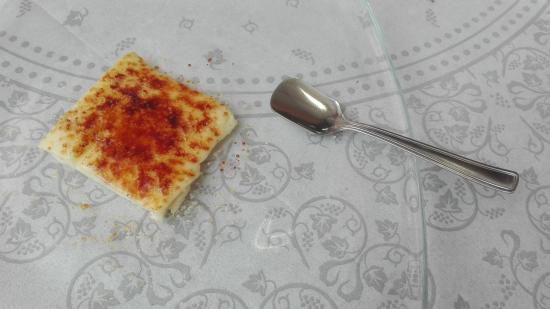 Tolfa, Italia: miini crema catalana