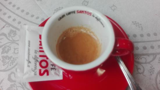 Tolfa, Italia: caffè insufficente